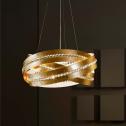 Подвесные светильники с одним абажуром