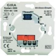 Кнопочный светорегулятор Gira 033100