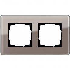 Рамка Gira Esprit Glass 0212522