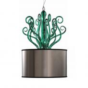 Подвесной светильник Euroluce Conteporary YNCANTO S1 зеленый
