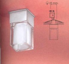 Врезной светильник Linea Light 4180