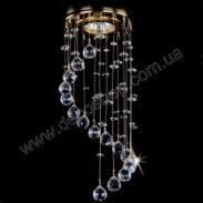 Потолочный светильник Art glass Spot 22 chaos Crystal