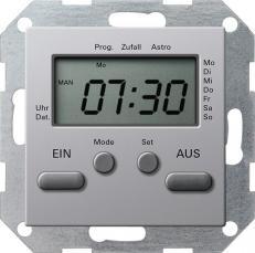 Термостат с таймером Gira E22 0385203