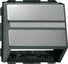 Накладка с опорной пластиной Gira E22 087020