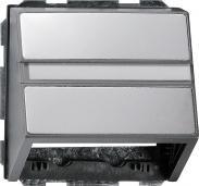 Накладка с опорной пластиной Gira E22 0870203