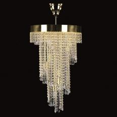 Люстра Art Glass SPIRAL 400x700 Crystal