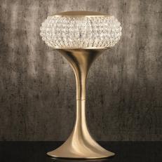 Настольная лампа Masiero Cristalis TL1P