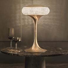 Настольная лампа Masiero Cristalis TL1G