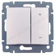 Светорегулятор Valena 770262 кнопочный 400Вт алюминий
