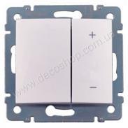 Светорегулятор кнопочный Valena 770074 60-600Вт белый