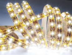 Гибкая светодиодная влагостойкая лента SMD 3528 FLT8